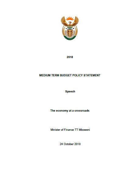 Medium Term Budget Policy Statement
