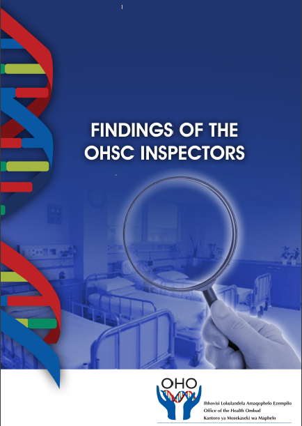 Findings of the OHSC Inspectors