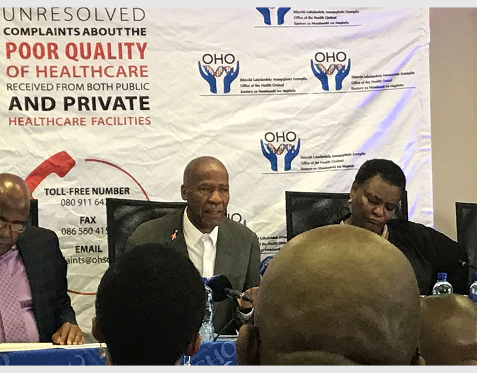"Release of the report ""Into allegations of patient mismangement and patient right's violations at the Tower Psychiatric Hospital and Psychological Rehabilitation Centre"" in the Eastern Cape"